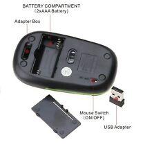 Wireless Cordless Mouse USB for HP 22-c0046na Envy 34-b103na 27-b209na c0044na