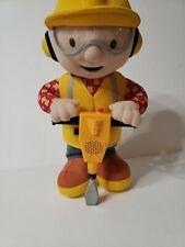 """Bob the Builder Jack Hammer 12"""" plush toy Hasbro"""