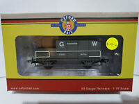 Oxford Rail OR76TOB001 GWR grey 4 wheel Planked Toad Brake van Paddington BNIB