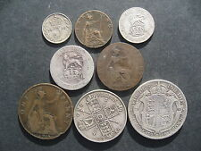 Giorgio V Anno Set 1916 halfcrown-SOLDO. 8 monete.