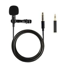 Standard Lavalier Microphone for Mobile Phone Android Smartphones DSLR Camera
