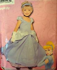 SEWING PATTERN Simplicity 9383 DISNEY PRINCESS CINDERELLA Child sz 3-8 Costume