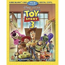 Toy Story 3 (Four-Disc Blu-ray/DVD Combo Blu-ray