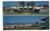 Driftwood Lodge Motel DAYTONA BEACH FL Vintage Roadside Florida Postcard