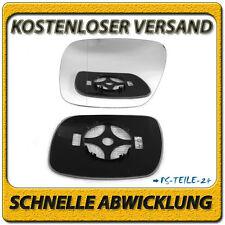 Spiegelglas für VW TOUAREG 2002-2006 links asphärisch beheizbar fahrerseite