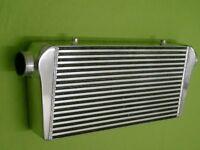"Burstflow Universal Ladeluftkühler LLK 600x300x100 mm 3"" 76 mm Bar and Plate"