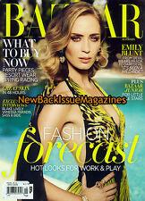 Australian Bazaar 11/12,Emily Blunt,November 2012,NEW