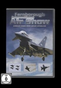 DVD FARNBOROUGH INTERNATIONAL AIR SHOW - FLUGSHOW - FLUGZEUGE *** NEU ***