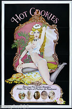 Hot Cookies Erotic Vintage Penthouse Pets Pin Up Art Original 1977 Movie Poster