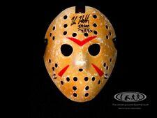 Kane Hodder signed Jason Voorhees Mask Friday the 13th 7,8,9,X JSA Witnessed