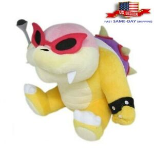 "Super Mario Bros TV Series Roy Koopa Plush Toy Doll Toy Gift Stuffed Animal 10"""