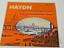 DISQUE VINYLE 33 TOUR HAYDN SYMPHONIE 101 104 EN RE MAJEUR LONDRES HORLOGE