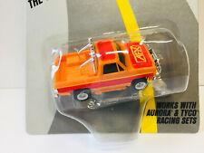 "AFX TOMY AURORA GMC PICK-UP in RARE 2 tone ORANGE ""A BEAUTY""  NEW on CARD L@@K!"