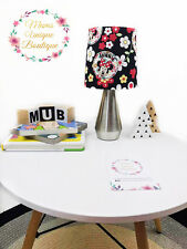 Minnie Mouse Black Flower Baby Children Nursery Table Lamp Night Light Touch Lam