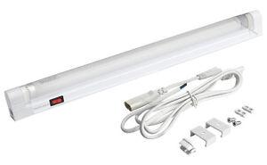 T5 Undershelf Cabinet Light Fitting  + 6W  8W 13W CFL Tube Complete Unit