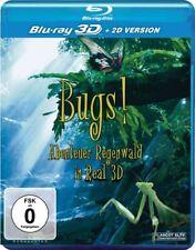 BUGS! ABENTEUER REGENWALD REAL 3D   BLU-RAY NEU