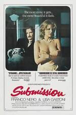 SUBMISSION Movie POSTER 27x40 B Franco Nero Lisa Gastoni