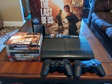 Sony Playstation 3 PS3 Super Slim Console 250 GB & 9 best Games, 2 controllers