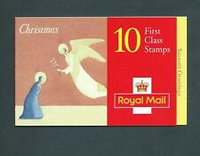 Lx11 Christmas 1996, 10 x 1st / 25p barcode Booklet. Nativity story