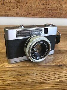 RARE - MINOLTA REPO-S  Half Frame  Film Camera 32mm 1:1.8 Japan UNTESTED LL3