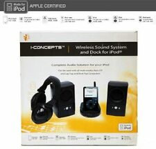 iConcepts Dock and Wireless Sound System for iPod