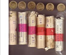 1 PESETA 1966 *(69,70,72,73,74,75) SIN CIRCULAR (DE CARTUCHO)
