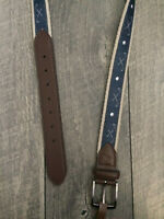 Tommy Bahama Embroidered Belt Mens M NWT 34-36 42-44 + XL Needlepoint
