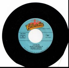 GLEN CAMPBELL & BOBBIE GENTRY LET IT BE ME/JODY MILLER QUEEN OF THE HOUSE 45RPM
