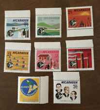 Nicaragua. Alliance for Progress Started by John F. Kennedy stamps.Sc#s C540-547