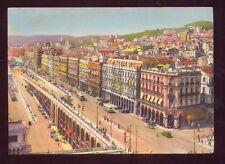 Alger Les Rampes et le Boulevard de la Republique Vintage Postcard
