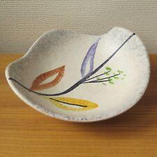 Vintage SCHEURICH FOREIGN BOWL 314 24 | German Ceramics Mid Century 50s 60s