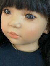 """New listing Annette Himstedt """"Shireem� Faces of Friendship Artist 'Bali' Doll Coa & Box"""