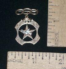 1955-1975 Masonic or Odd Fellows - Dove over Five Point Star - 10K - three links