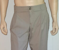 NEW Emporio Armani Pants in Brownish Gray Size 36x34 NWT Made in Italy $350.00