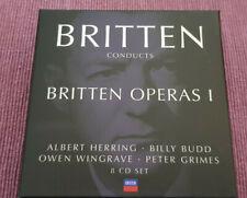Britten Conducts Britten Operas I - Peter Grimes, Albert Herring, Billy Budd 8CD