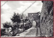 RIMINI SANTARCANGELO DI ROMAGNA 29 PORTA CERVESE Cartolina viag 1965 real photo