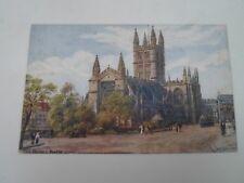 A R QUINTON Postcard 1434 THE ABBEY, BATH    Unposted   §A2906
