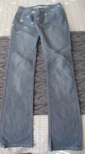 Ladies SUPERFINE pale blue jeans waist 27