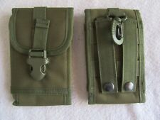 1 Universal Molle Army Tactical Cell Phone Smartphone Waist Pouch Bag Case Cover