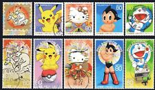 Japan 2011 PHILANIPPON 1st Issue set of 10 Fine Used