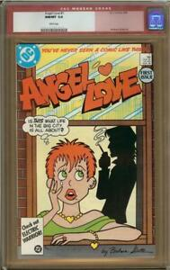 Angel Love #1 CGC 9.8 Barbara Slate Art Old Red Label