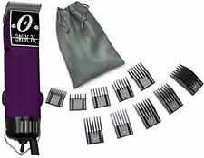 New Oster Classic 76 Purple Color Limited Edition Hair Clipper+10 PC Comb Set