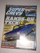 Super Chevy Magazine '69 Camaro Roadster Shop Vette April 2010 030417NONRH