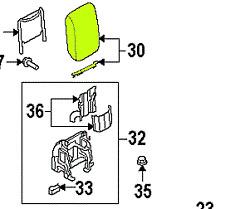 Audi A5 08 - 11 OEM Center Console Armrest 8K0864207F86R GENUINE
