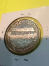 Boron Operations 1 OUNCE .999 SILVER With Gold Color Accents GREAT COIN