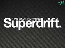 Superdrift Car Sticker Drifting Drift Decal Nissan silvia, skyline, 200sx, BMW