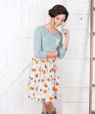 Matilda Jane Orange Fresh Squeezed Dress Girls Size 8 ~435 Collection NWT