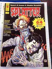 Fumetto Splatter Anno II N9 Marzo 1990 DISCRETO!!