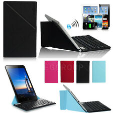 """9"""" Bluetooth Keyboard W/ Magnetic Stand Case Cover For 9"""" 10"""" 10.1"""" Tablet PC"""