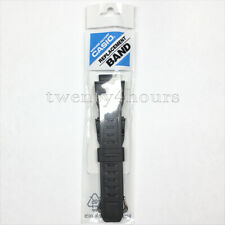 CASIO 10388870 ORIGINAL G-SHOCK MUDMAN BLACK RUBBER BAND / STRAP FOR: G-9300-1